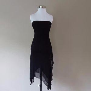 Black Sheath Dress Extra Small Le Chateau